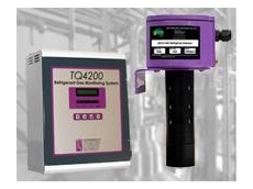 Refrigerant gas detection and monitoring systems