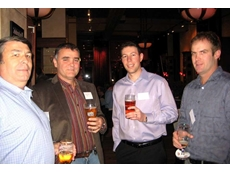 (L-R) Val Korzynski, Gekko's Manager Operations – South Africa, Wray Carvelas of DRA Americas, Adam Hesse, VP North American Operations and Tim Bell, Technical Sales Manager for Australasia