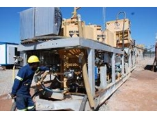 Award winning Python underground processing plant