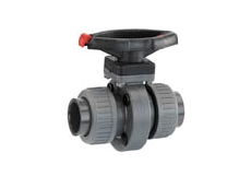 GEMU 417 2/2 way plastic butterfly valves