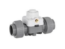 647 2/2 way plastic valve