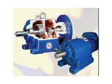 G&W helical geared motors.