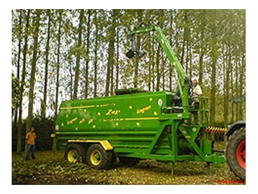 Durable and high performance Zago Ecogreen Composters can grind everything from softer food scraps to harder industrial pallets
