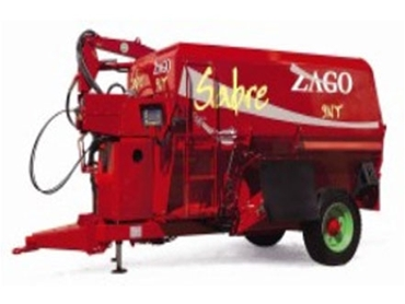 Performing to modern zootechnical requirements, the Zago Sabre Series is a technical revolution to hay shredding