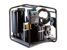 Diesel hot water pressure cleaners