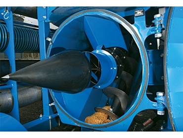 Intelligent Cone Separator allows for allows for efficient air flow while maximising capacity