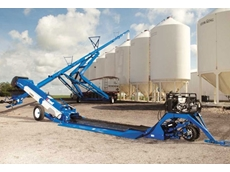 Open Top Augers deliver high capacity grain movement