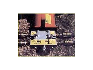 Power head control valve  effectively regulates the speed of the auger and self propelled bin sweep
