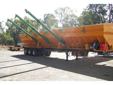 20 and 24ft Chaser Bins feature three compartments