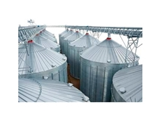 Heavy duty  corrugated Flat Bottom Silos