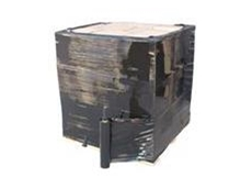 Black pallet wrap from Get Packed can be supplied in pre-stretched and blown film varieties