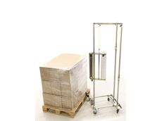 GoodPack R-Wrapper pallet wrapping trolley