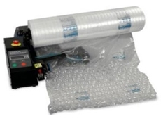 New Air I.B. Express packaging system from Get Packed creates bubble wrap