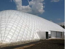 Creating economical temporary spaces with inflatable buildings