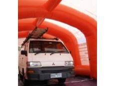 Ezy Shelter 7045 inflatable tent portable workstation