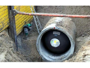 Inflatable Pipe Plugs Replace conventional Timber and plastic barriers