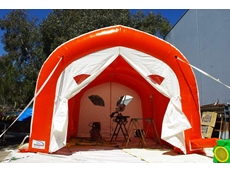 Inflatable Shelters from Giant Inflatables Industrial