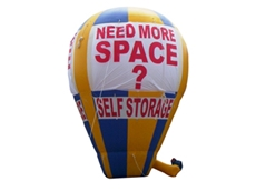 Inflatable rooftop advertising is an ideal way to attract passing traffic