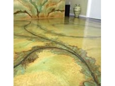 Acid-stain colouring from Global Concrete Solutions