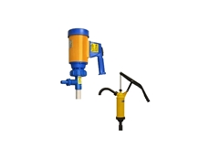 Techniflo Drum pumps for transferring flammable or corrosive liquids