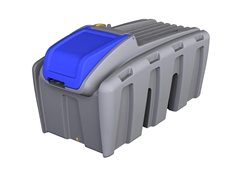 600ltr Low Profile Ute Mate Diesel Tank from Global Roto-Moulding