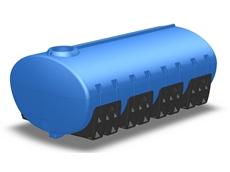 11000-litre cartage tank