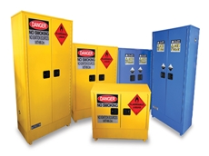 Flammable and Corrosive Safety Cabinets