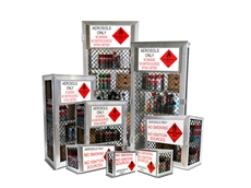​Safety Storage Cages from Global Spill Control