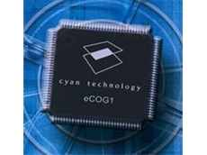 Cyan Technology develops a range of turnkey solutions with eCOG1k 16-bit microcontroller