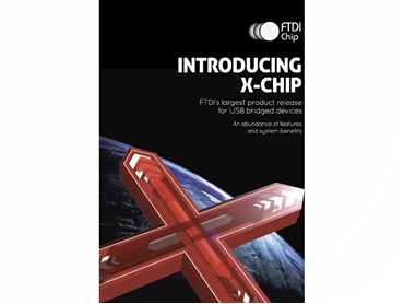 The X-chip Series of USB to serial interface from FTDI