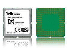 Telit HE910 Penta-Band modules have global 3G compatibility