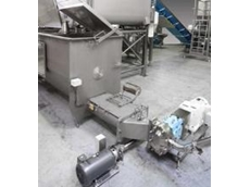 The GoldPeg Auger Feed Hopper with compression section