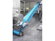 Hygienic belt conveyor
