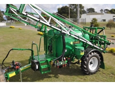 Compact Evolution trailing broadacre sprayer