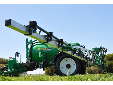 Goldacres offers a complete range of boom options