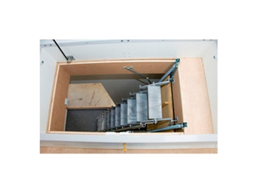 Retractable Attic Ladders and Scissor Stairs