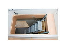 Access Roofs Easily with Retractable Scissor Stairs from Gorter Hatches