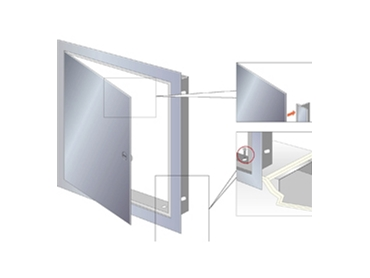 Universal and Fire-Rated ceiling doors and wall doors