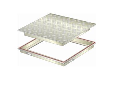 Checker plate finish