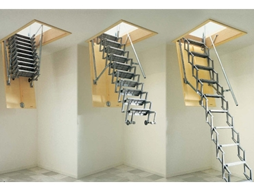 Gorter Hatches Introduces Their Scissor Stairs And Attic