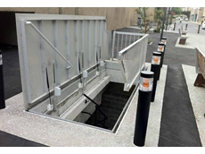 Gorter's fire escape floor doors open automatically for a quick escape in the event of a fire
