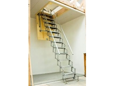 Scissor stairs