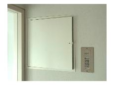 Wall door panel