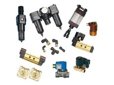 Solenoid and Pneumatic Valves, and Components