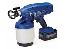 TrueCoat Pro Fine Finish airless paint sprayers are portable, quick and easy to use