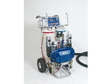 Four Reactor Sprayers for foam insulation