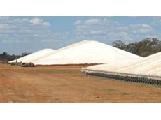 Bulk grain storage systems