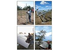 The GES FarmPak solar energy system is designed for farmers to self install in 4 simple steps