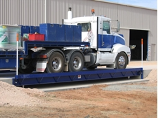 Steel weighbridge