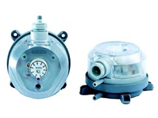 930 differential pressure switches can be easily adjusted either by hand or with a screwdriver